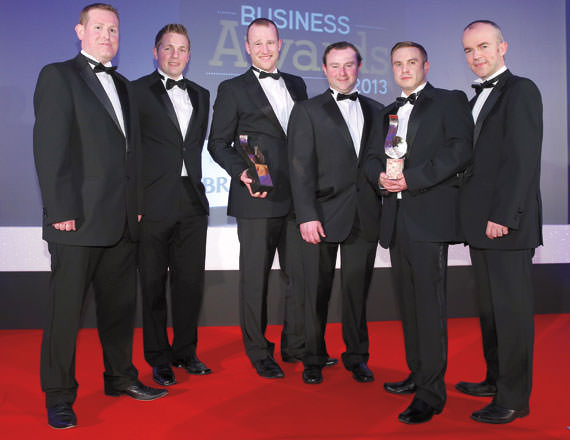 #TeamAnaconda at the Belfast telegraph awards on the Gloabl Dealer Network page