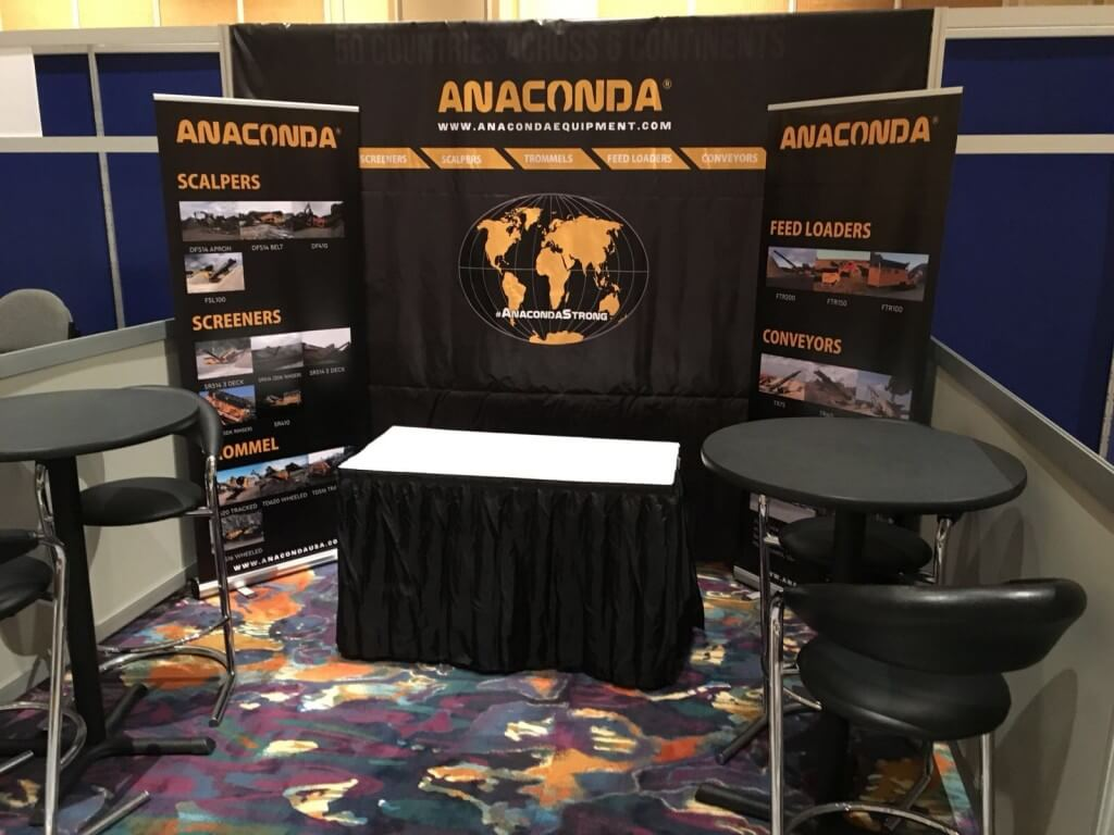Anaconda stand AED Summit & CONDEX Trade Show