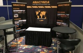 Anaconda stand AED Summit & CONDEX Trade Show