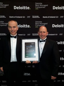Anaconda win 2018 deloitte Gold awards for #BestManaged