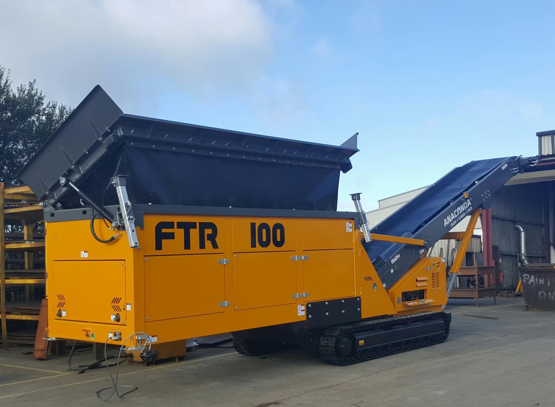 feed loader conveyor FTR100