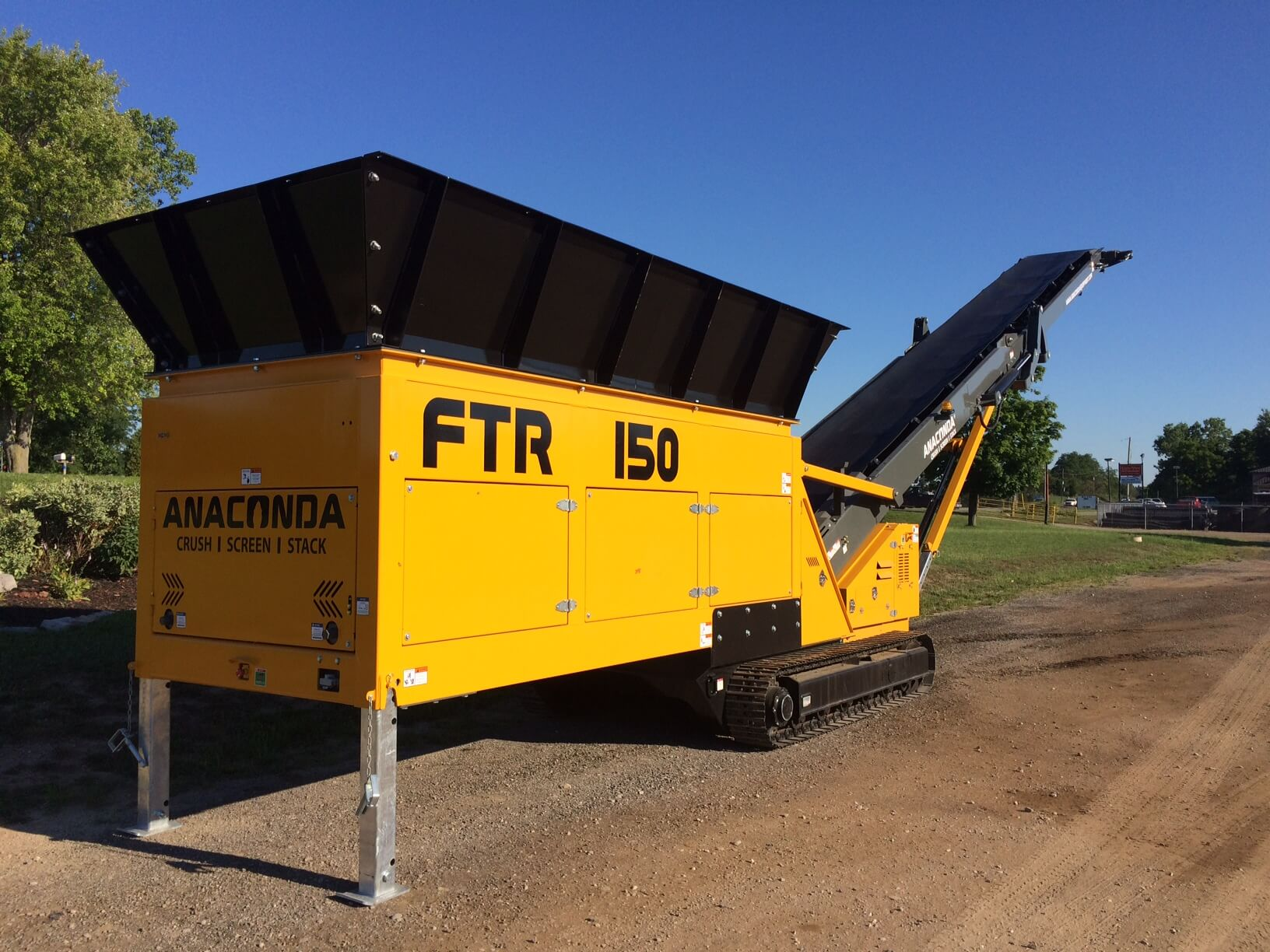 feed loader conveyor FTR150