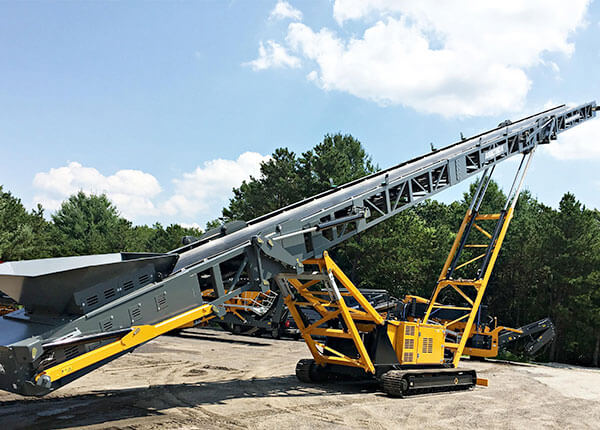 TR100 Tracked 100 ft Conveyor